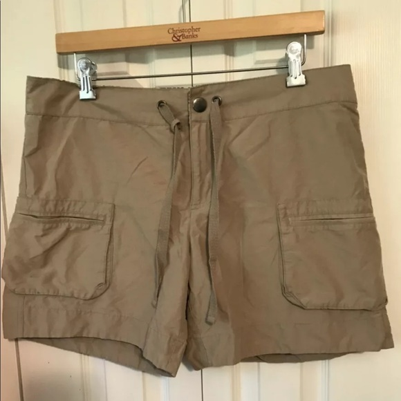 🥾COLUMBIA Khaki Tan Outdoor Shorts Hiking Camping